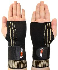 adjustable wrist compression sleeve
