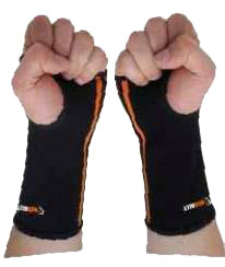 wrist and forearm compression sleeve